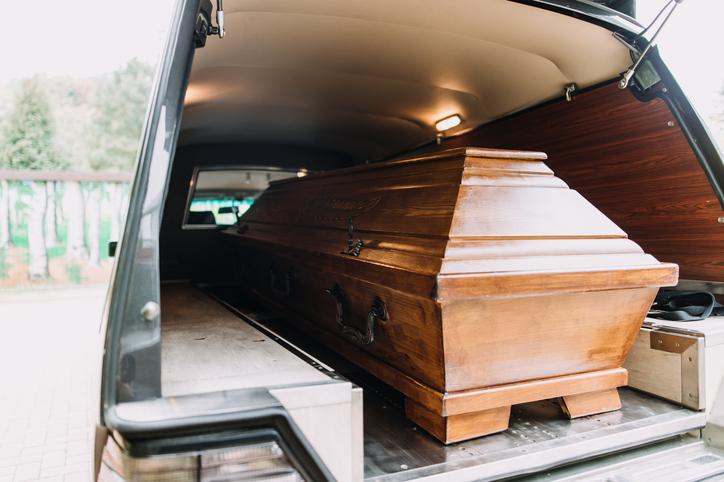 棺桶の移送